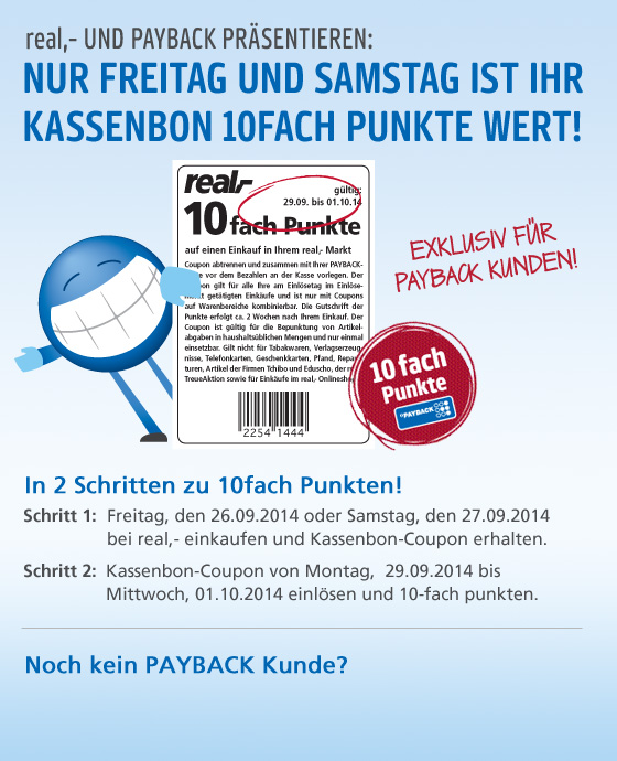 10-fach PAYBACK-Coupon