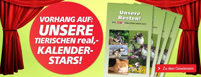 real,- macht Ihr Tier zum Kalenderstar!