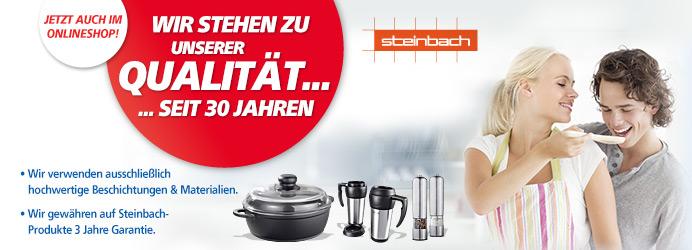 Steinbach - Jetzt auch im Onlineshop!