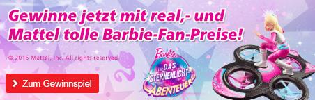 Gewinne jetzt mit Barbi und Mattel tolle Barbie-Fan-Preise