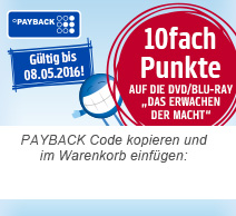 StarWars DVD 10fach Payback