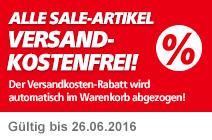 Alle Sale-Artikel versandkostenfrei!