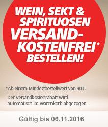 Wein, Spekt & Spirituosen versandkostenfrei