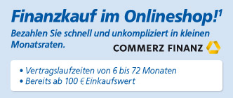 Finanzierungsservice im Onlineshop