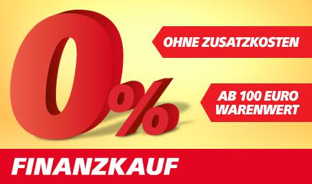 0 Prozent Finanzkauf ab 100 Euro Warenwert