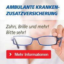 ambulante Krankenzusatzversicherung