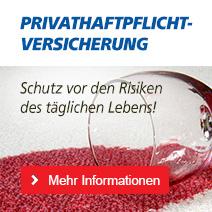 Privathaftpflichtversicherung