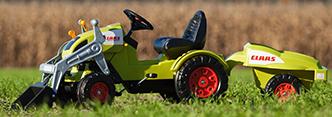 BIG- und SMOBY-Traktoren
