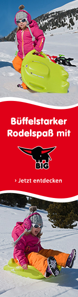 Büffelstarker Rodelspaß mit BIG!