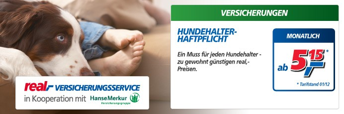 Hundehalter-Haftpflicht-Versicherung