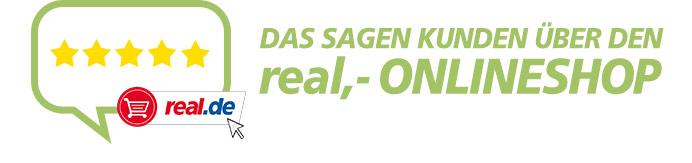 Das sagen Kunden über den real,- Onlineshop