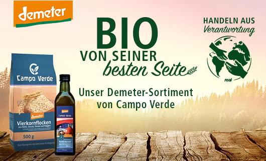 Demeter-Produkte bei real
